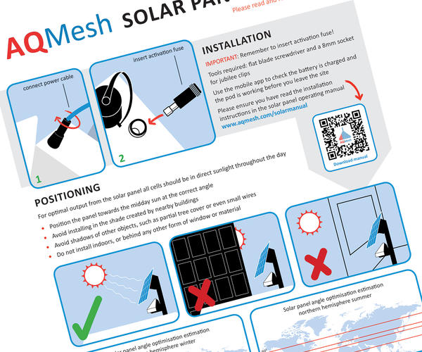 Solar Panel Guidelines
