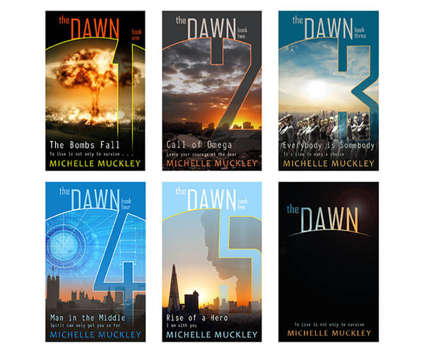 The Dawn series by Michelle Muckley