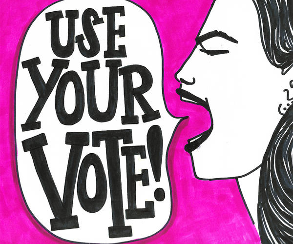 Use Your Vote poster